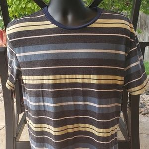 Pacsun Striped Short Sleeve TShirt Size M